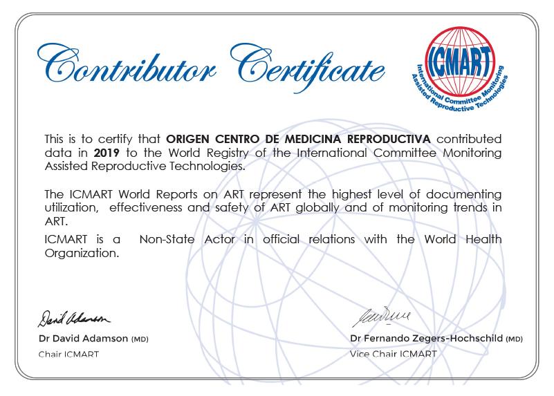 Certificados e acreditações