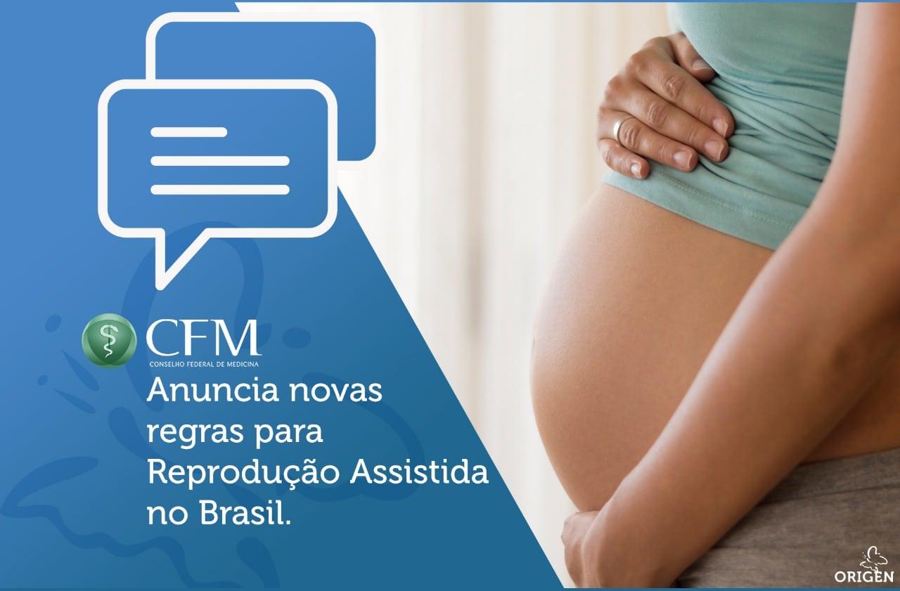 CFM anuncia novas regras para Reprodução Assistida no Brasil.
