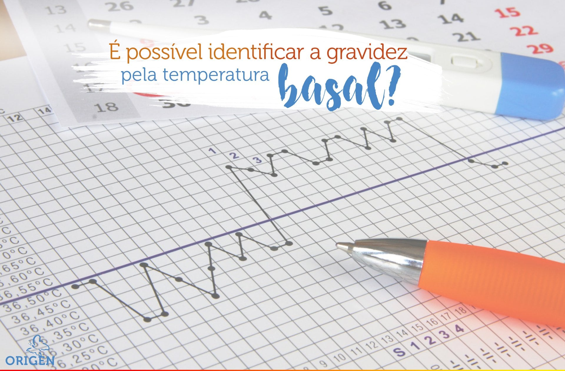 É possível identificar a gravidez pela temperatura basal?
