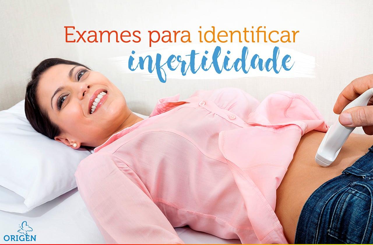 Quais exames de rotina podem identificar a infertilidade feminina?