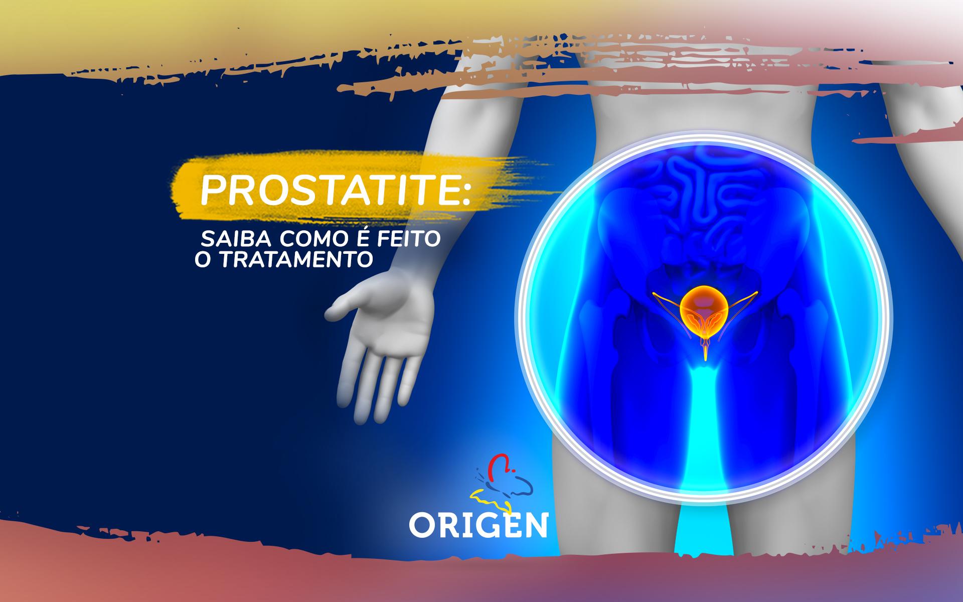 Prostatite: saiba como é feito o tratamento
